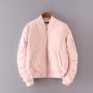 women-padded-bomber-font-b-jacket-b-font-new-2016-font-b-pink-b-font-short